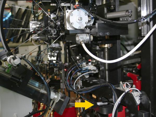 HB12-70 Uitlijningsmachine bij de productie van fietsen