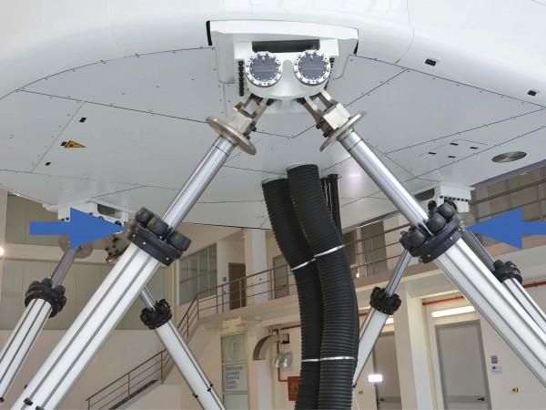TUBUS TC-TCS - Noodstopsystemen voor vliegtuigsimulatoren