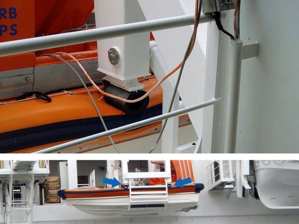 TUBUS TR-L - stootbescherming voor reddingsboten