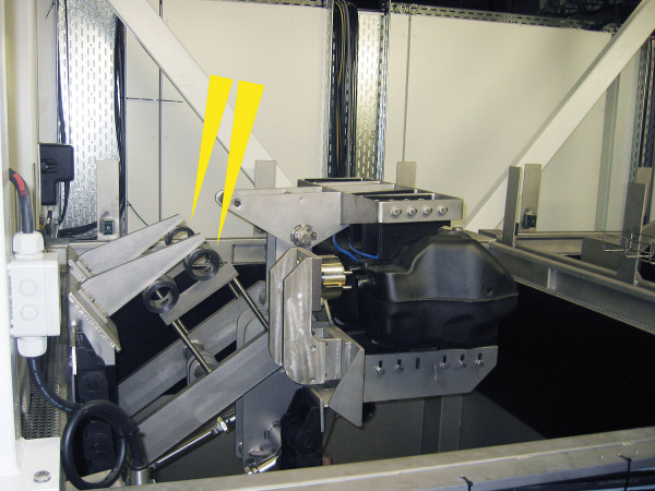 TUBUS-TR - Einddemping hydraulische aandrijving