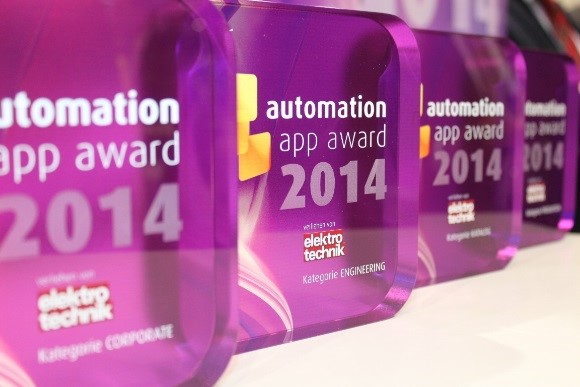ACE gewinnt automation app award 2014